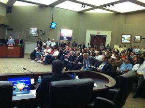 Orange County, Flordia Commission meeting on 9-11-12 (Joe Ruble)
