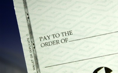 check pay to the order of