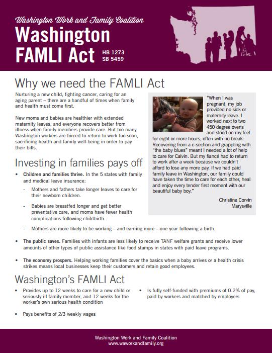 WA Work Fam FaMLI Act thumbnail